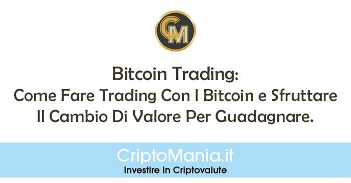 Strategia per guadagnare bitcoin